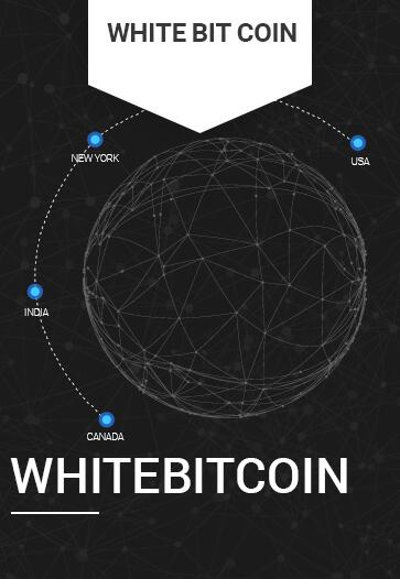 white bitcoin